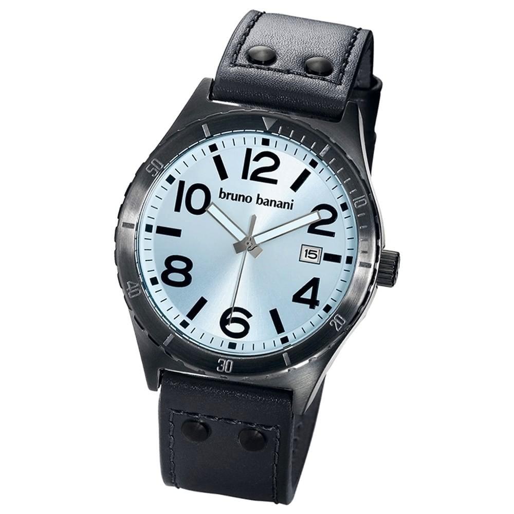 Bruno Banani Herren Uhr silber PVD Ares Uhren Kollektion UBR21019