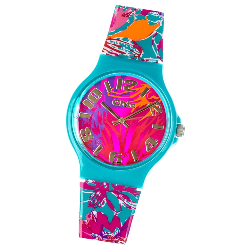 Chic-Watches Damenuhr Wild Flowers Armbanduhr Chic Lady-Uhren UC016