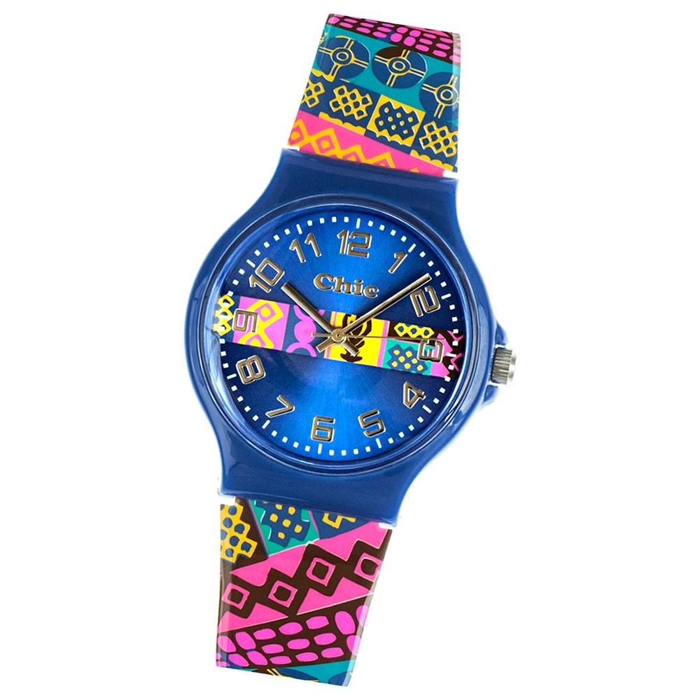 Chic-Watches Damenuhr Aztekenmuster Armbanduhr Chic Lady-Uhren UC017