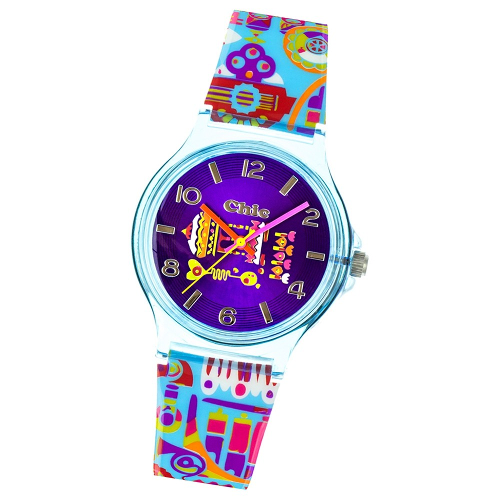 Chic-Watches Damenuhr Indien Tempel Armbanduhr Chic Lady-Uhren UC028
