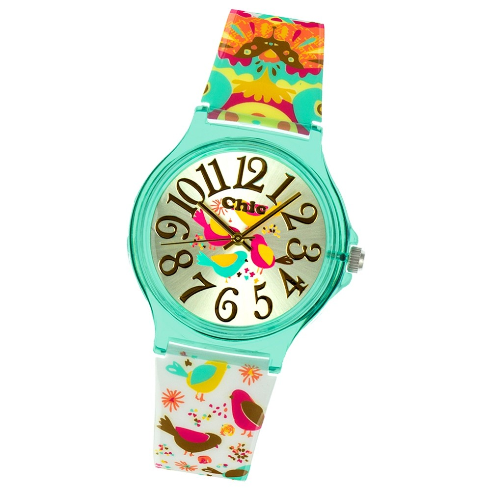 Chic-Watches Damenuhr Anime Style Vogel Armbanduhr Chic Lady-Uhr UC029