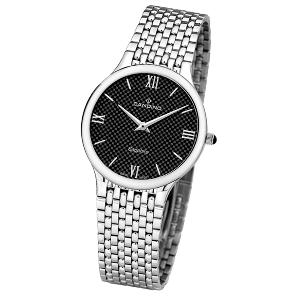 Candino Herren-Armbanduhr Timeless analog Quarz Edelstahl 316 L UC4362/4