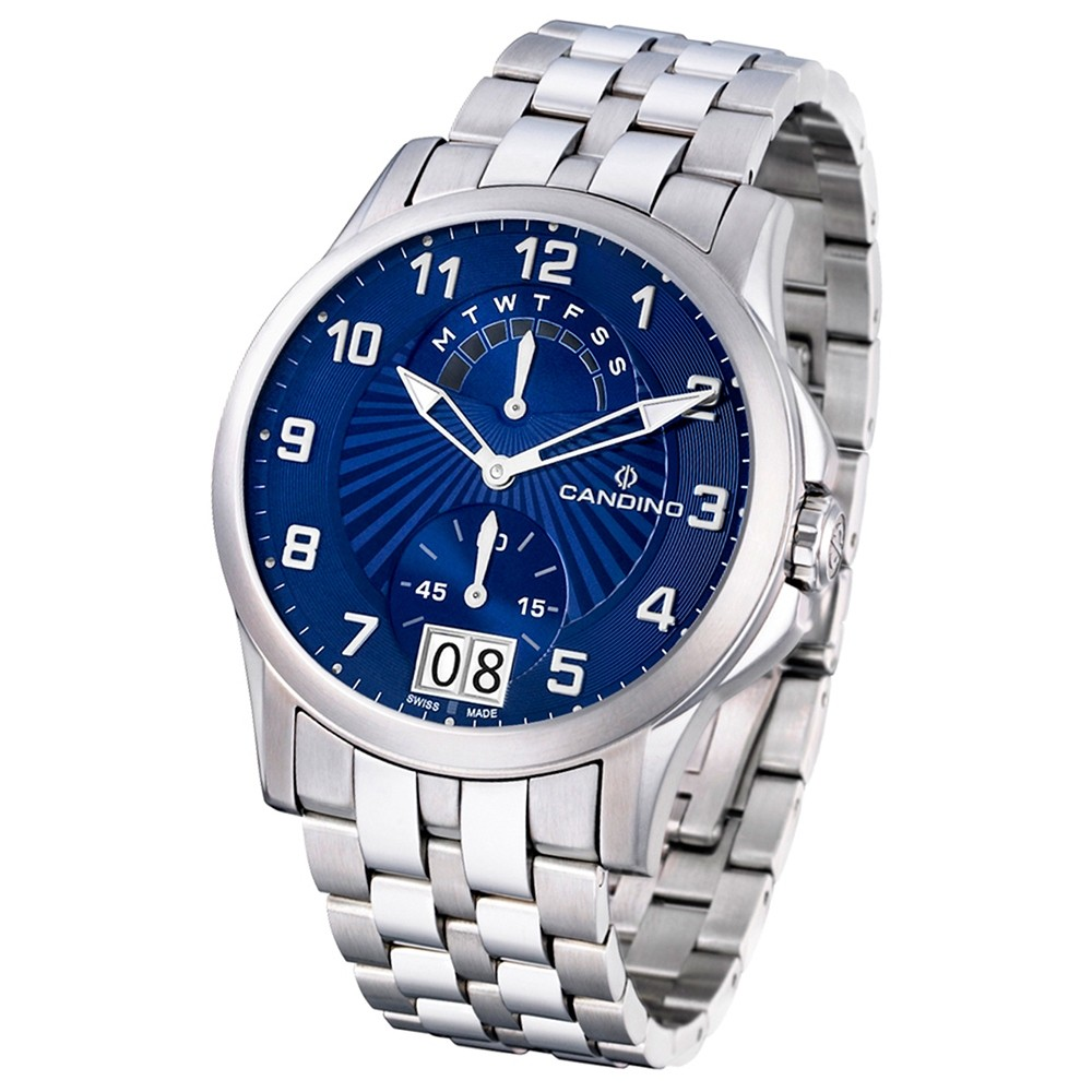 Candino Herren-Armbanduhr After Work analog Quarz Edelstahl 316 L UC4389/B