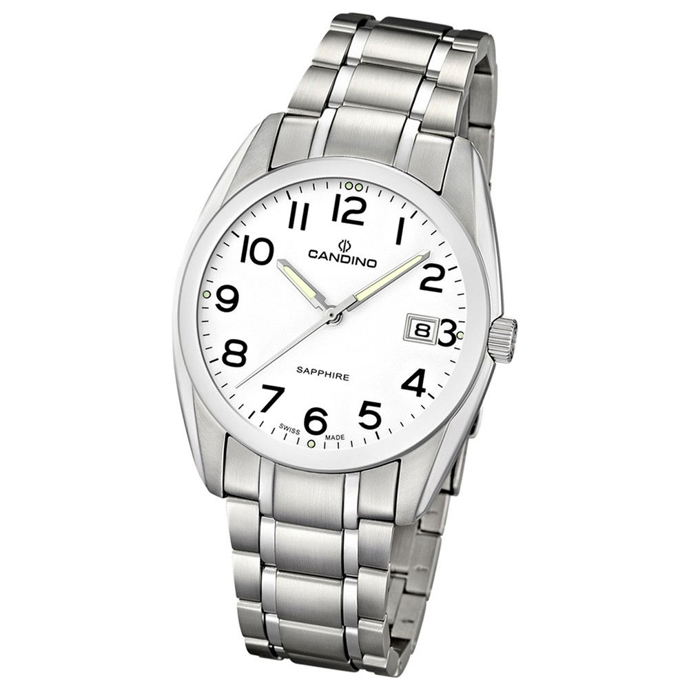 Candino Herren-Armbanduhr Timeless analog Quarz Edelstahl 316 L UC4493/1