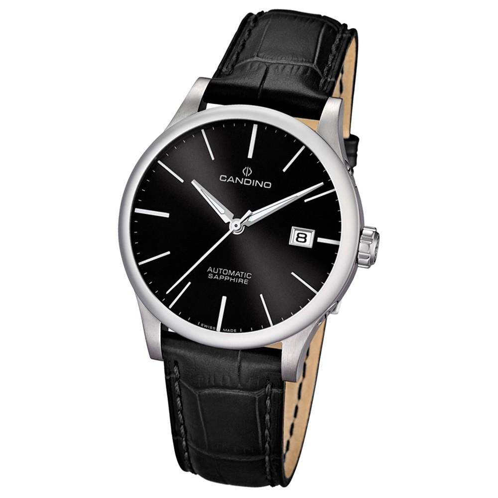 CANDINO Herren-Uhr - Automatic - Analog - Quarz - Leder - UC4494/7