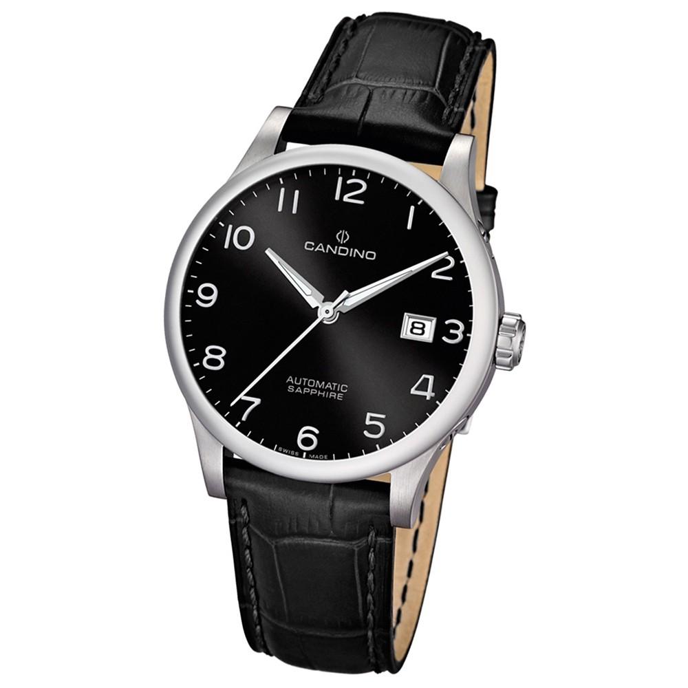 CANDINO Herren-Uhr - Automatic - Analog - Quarz - Leder - UC4494/8