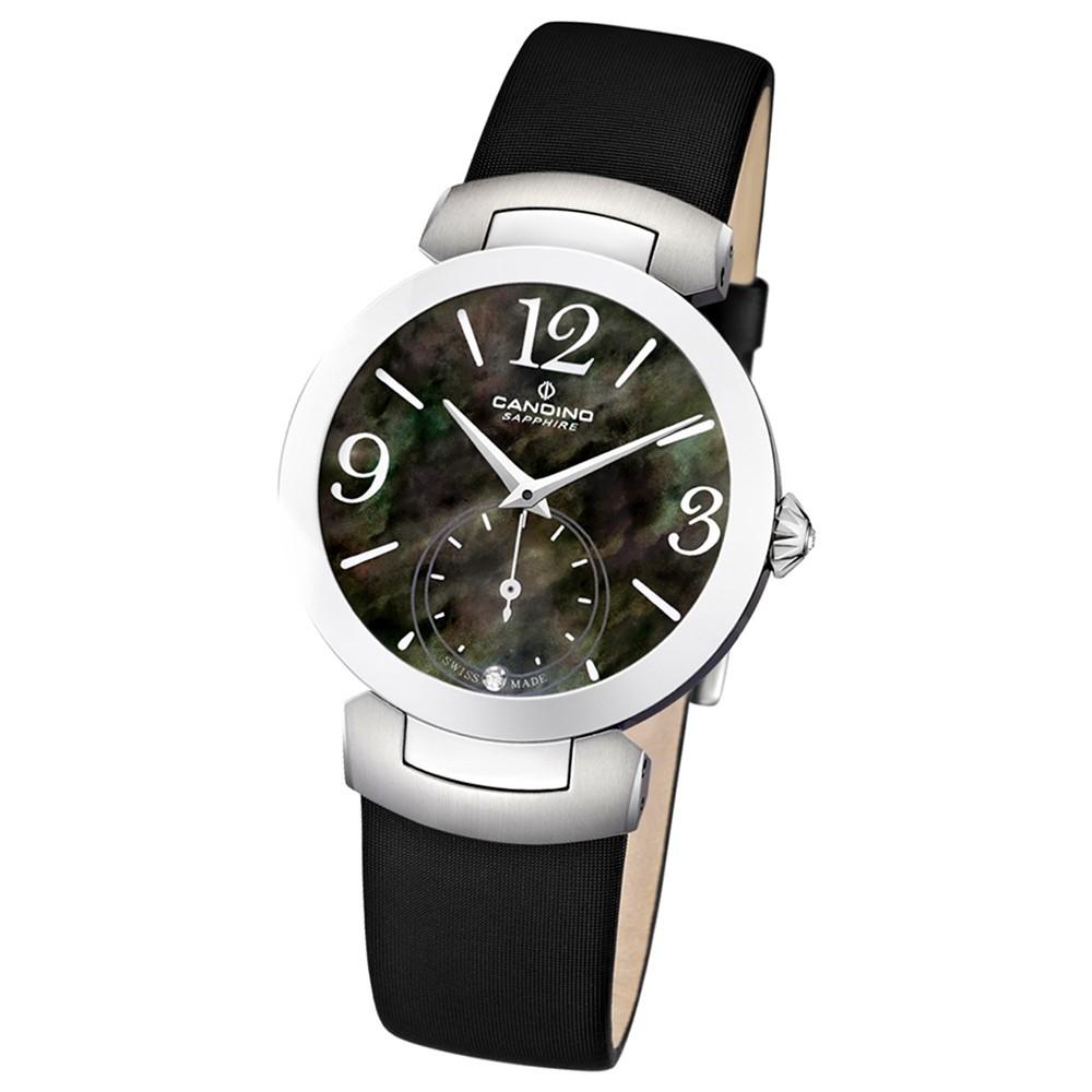 Candino Damen-Armbanduhr D-Light analog Quarz Leder UC4498/2
