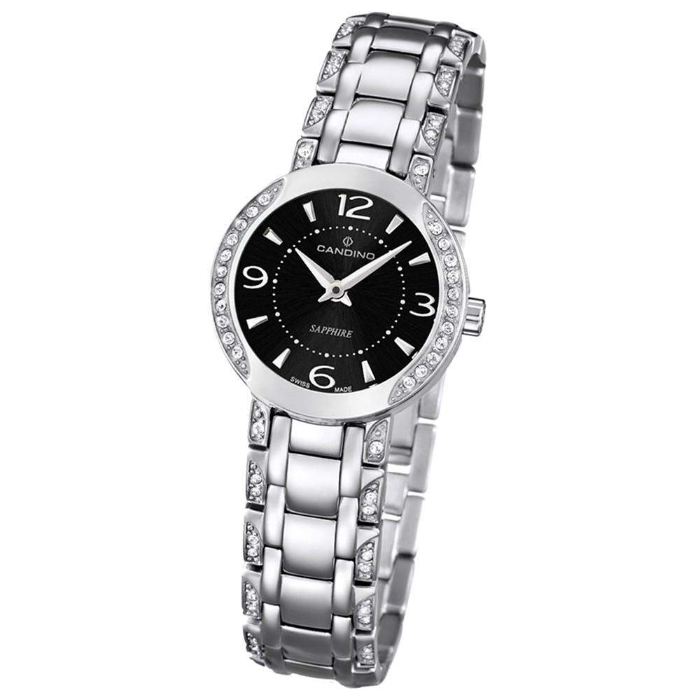 Candino Damen-Armbanduhr Timeless analog Quarz Edelstahl UC4502/2