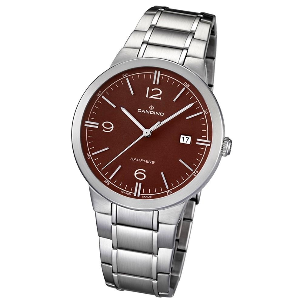 Candino Herren-Armbanduhr Timeless analog Quarz Edelstahl 316 L UC4510/3