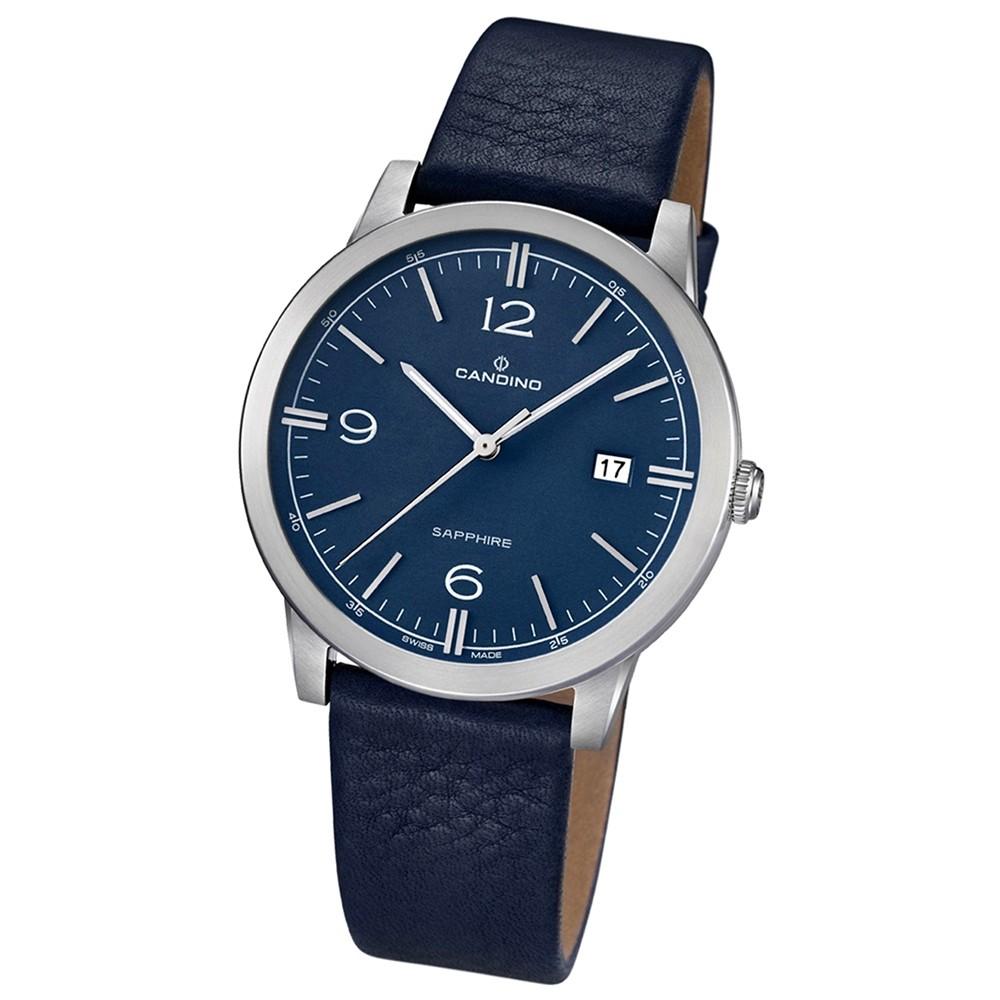 Candino Herren-Armbanduhr Timeless analog Quarz Leder UC4511/2