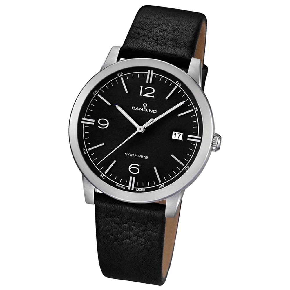 CANDINO Herren-Uhr - Classic Timeless - Analog - Quarz - Leder - UC4511/4