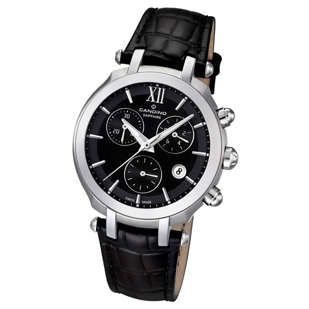 Candino Damen-Armbanduhr Athletic Chic Chronograph Quarz Leder UC4521/2