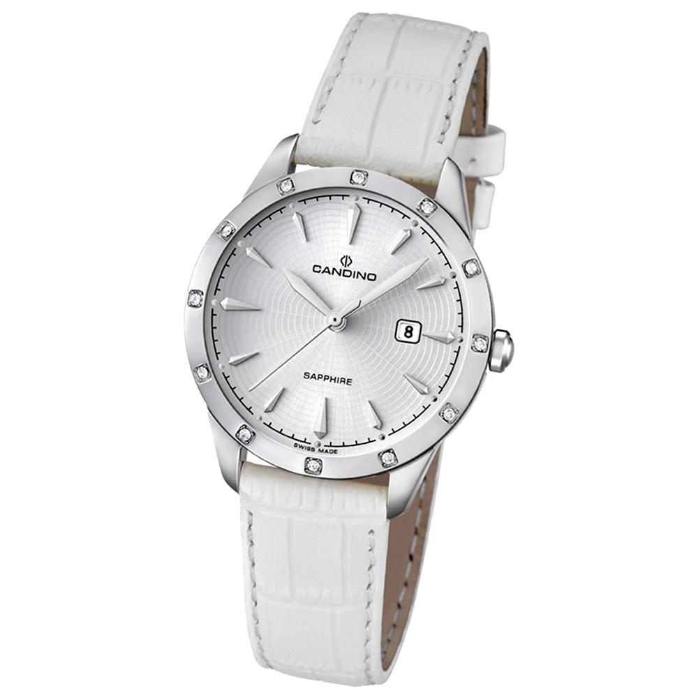 Candino Damen-Armbanduhr Timeless analog Quarz Leder UC4527/1