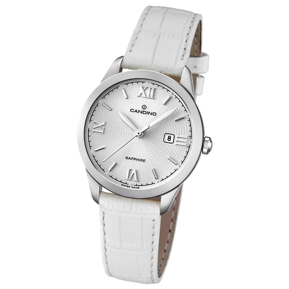Candino Damen-Armbanduhr Timeless analog Quarz Leder UC4528/1