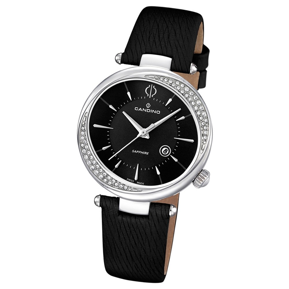 Candino Damen-Armbanduhr D-Light analog Quarz Leder UC4532/3