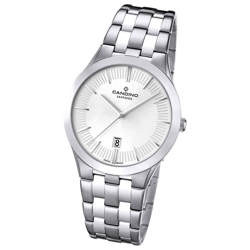 Candino Herren-Armbanduhr Timeless analog Quarz Edelstahl UC4539/1