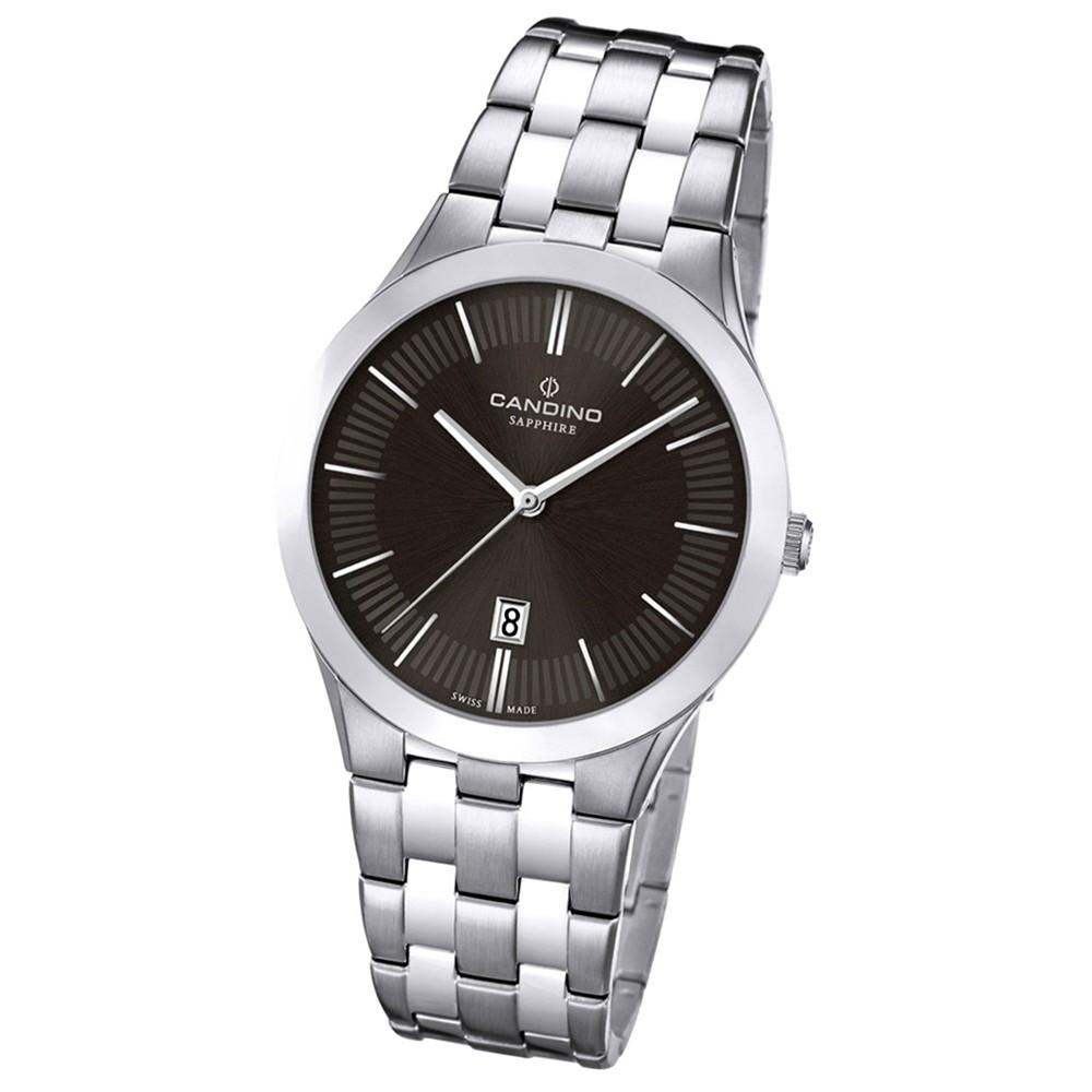 Candino Herren-Armbanduhr Timeless analog Quarz Edelstahl UC4539/3