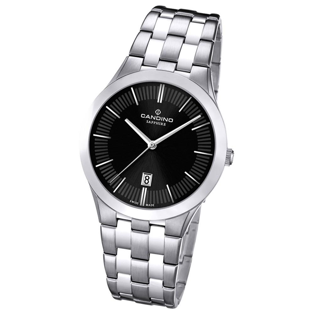 Candino Herren-Armbanduhr Timeless analog Quarz Edelstahl UC4539/4