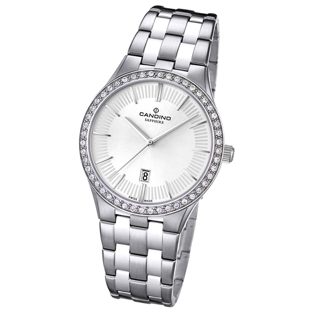 Candino Damen-Armbanduhr Timeless analog Quarz Edelstahl 316 L UC4544/1