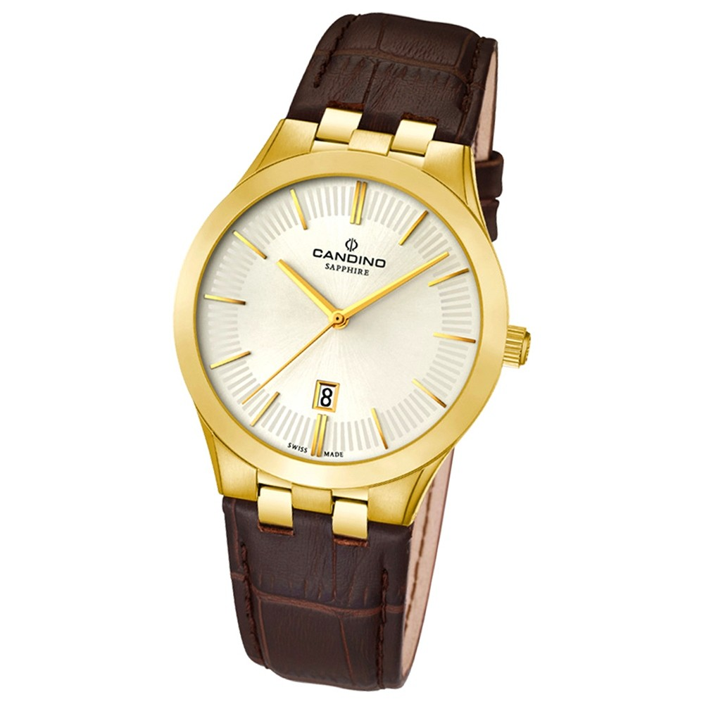 Candino Damen-Armbanduhr Timeless analog Quarz Leder UC4546/1