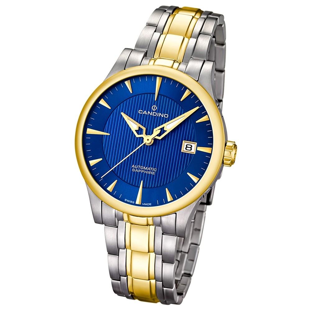 Candino Herren-Armbanduhr Timeless analog Automatik Edelstahl UC4549/2