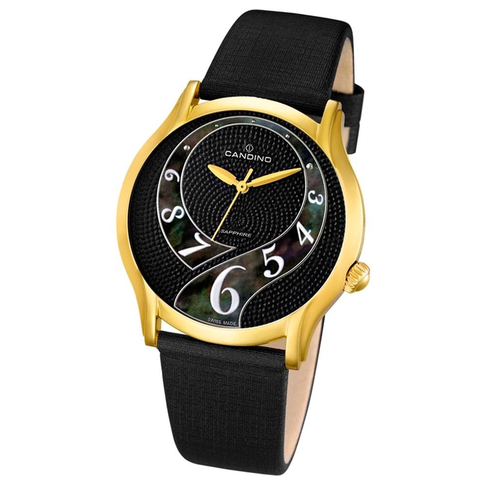 CANDINO Damen-Uhr - Elegance Flair - Analog - Quarz - Leder - UC4552/3