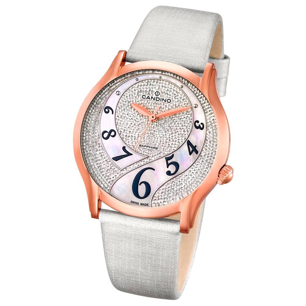 CANDINO Damen-Uhr - Elegance Flair - Analog - Quarz - Leder - UC4553/1
