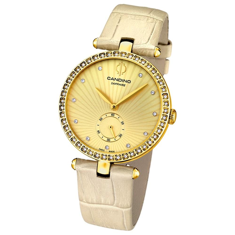 CANDINO Damen-Uhr - Elegance Flair - Analog - Quarz - Leder - UC4564/2
