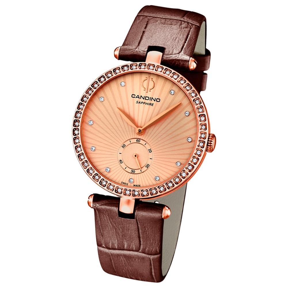 CANDINO Damen-Uhr - Elegance Flair - Analog - Quarz - Leder - UC4565/2