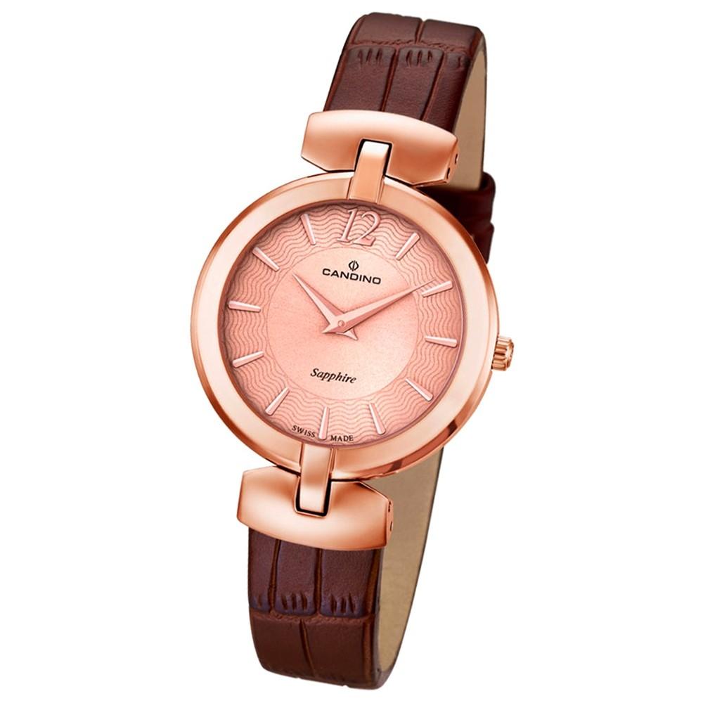 CANDINO Damen-Uhr - Elegance Flair - Analog - Quarz - Leder - UC4567/2