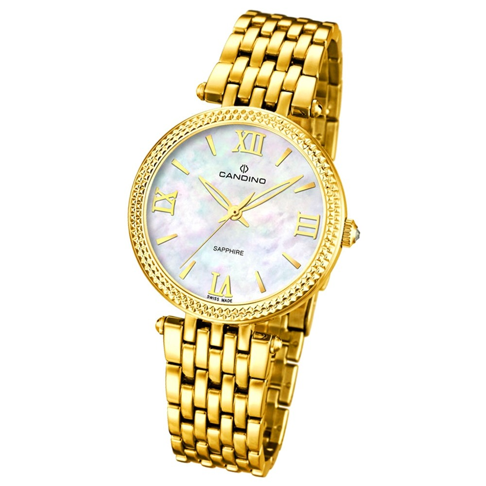 CANDINO Damen-Uhr - Elegance Flair - Analog - Quarz - Edelstahl - UC4569/1