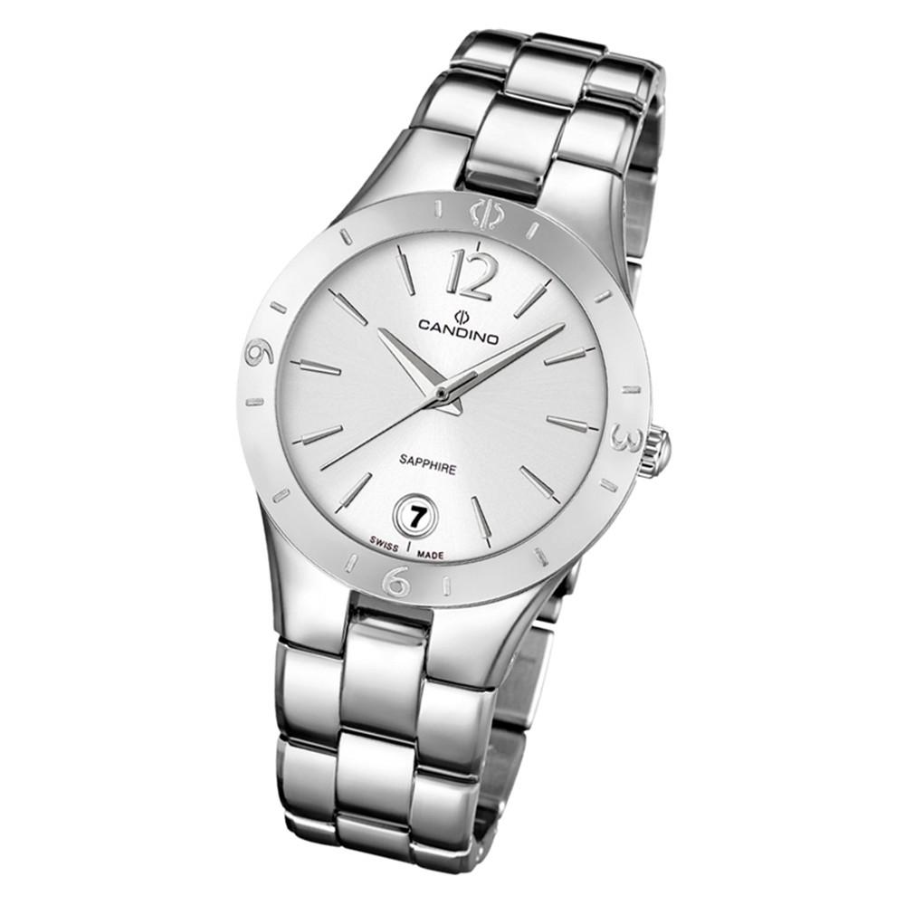 Candino Damen Armbanduhr Lady Elegance C4576/1 Quarz Edelstahl silber UC4576/1