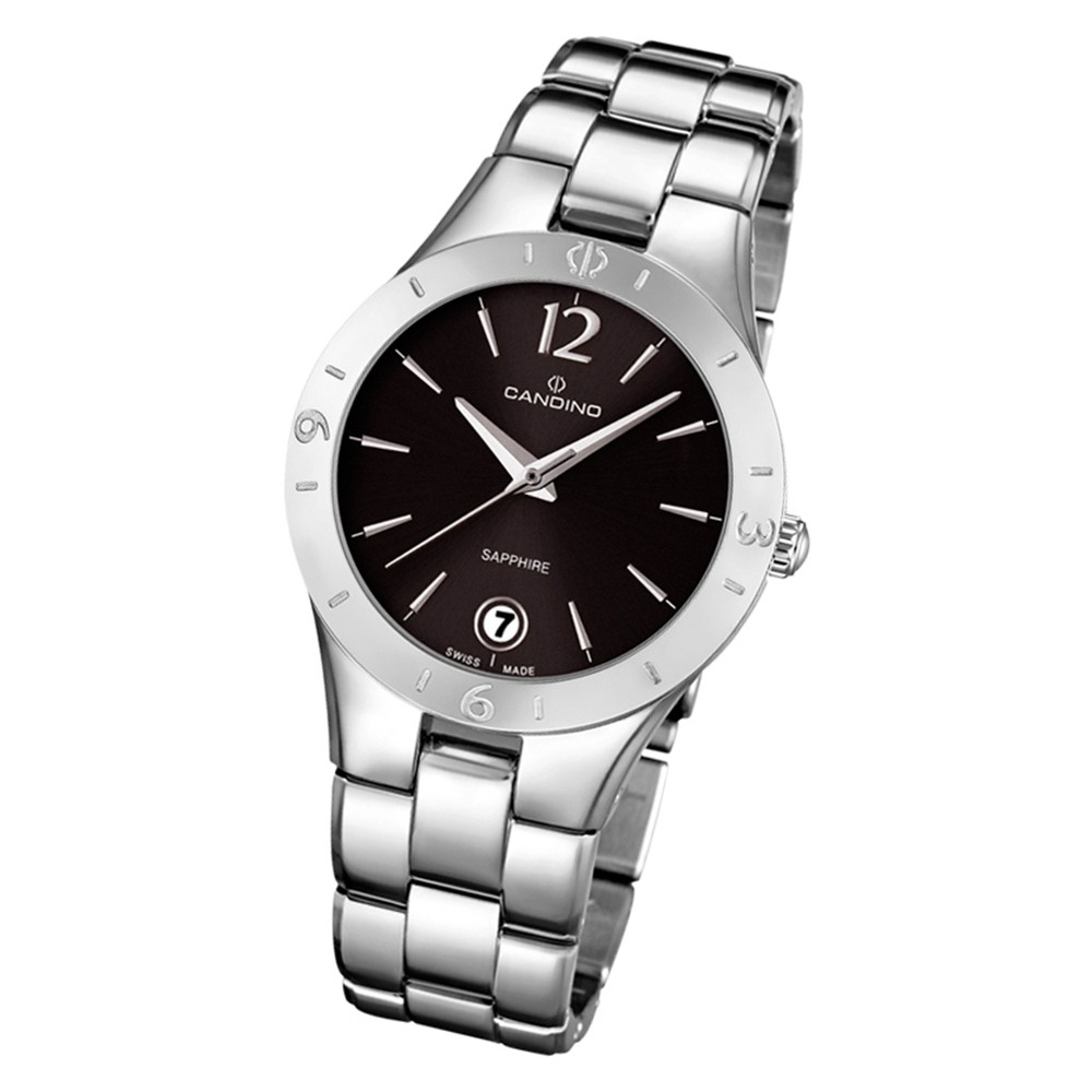 Candino Damen Armbanduhr Lady Elegance C4576/2 Quarz Edelstahl silber UC4576/2