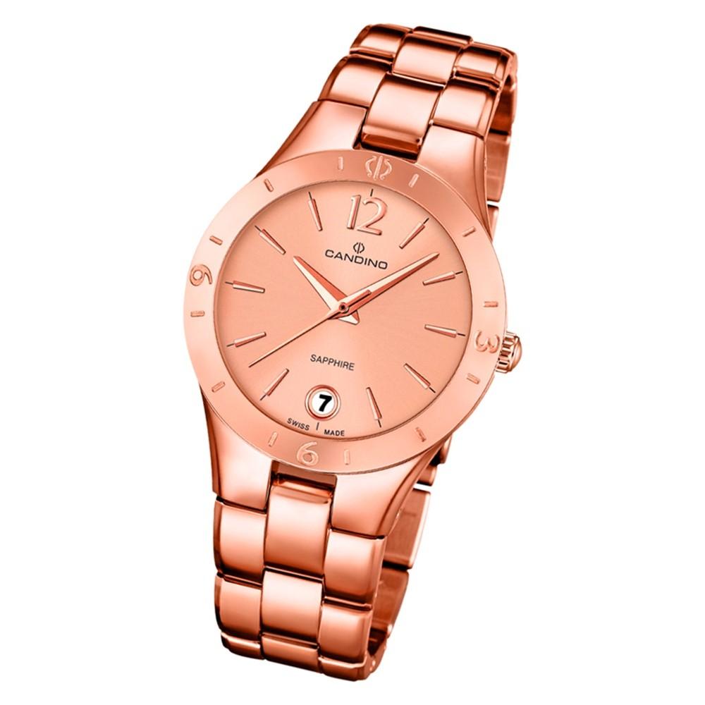 Candino Damen Armbanduhr Elegance C4578/1 Edelstahl Quarz rosegold UC4578/1