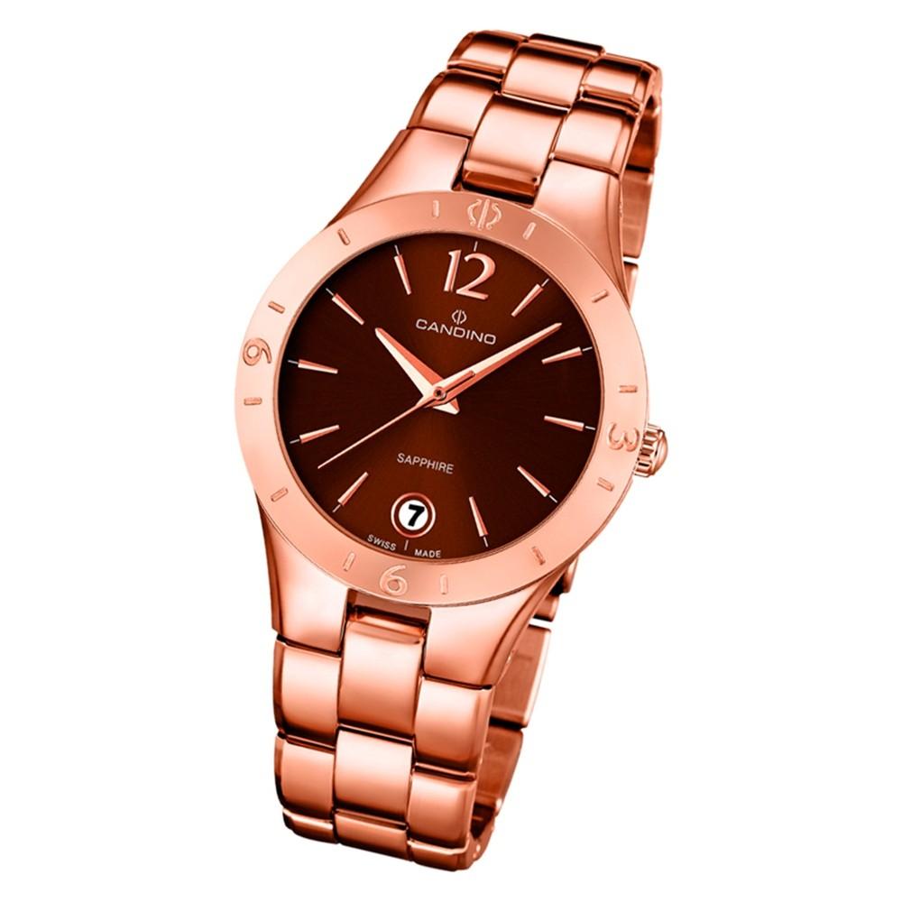 Candino Damen Armbanduhr Elegance C4578/2 Edelstahl Quarz rosegold UC4578/2