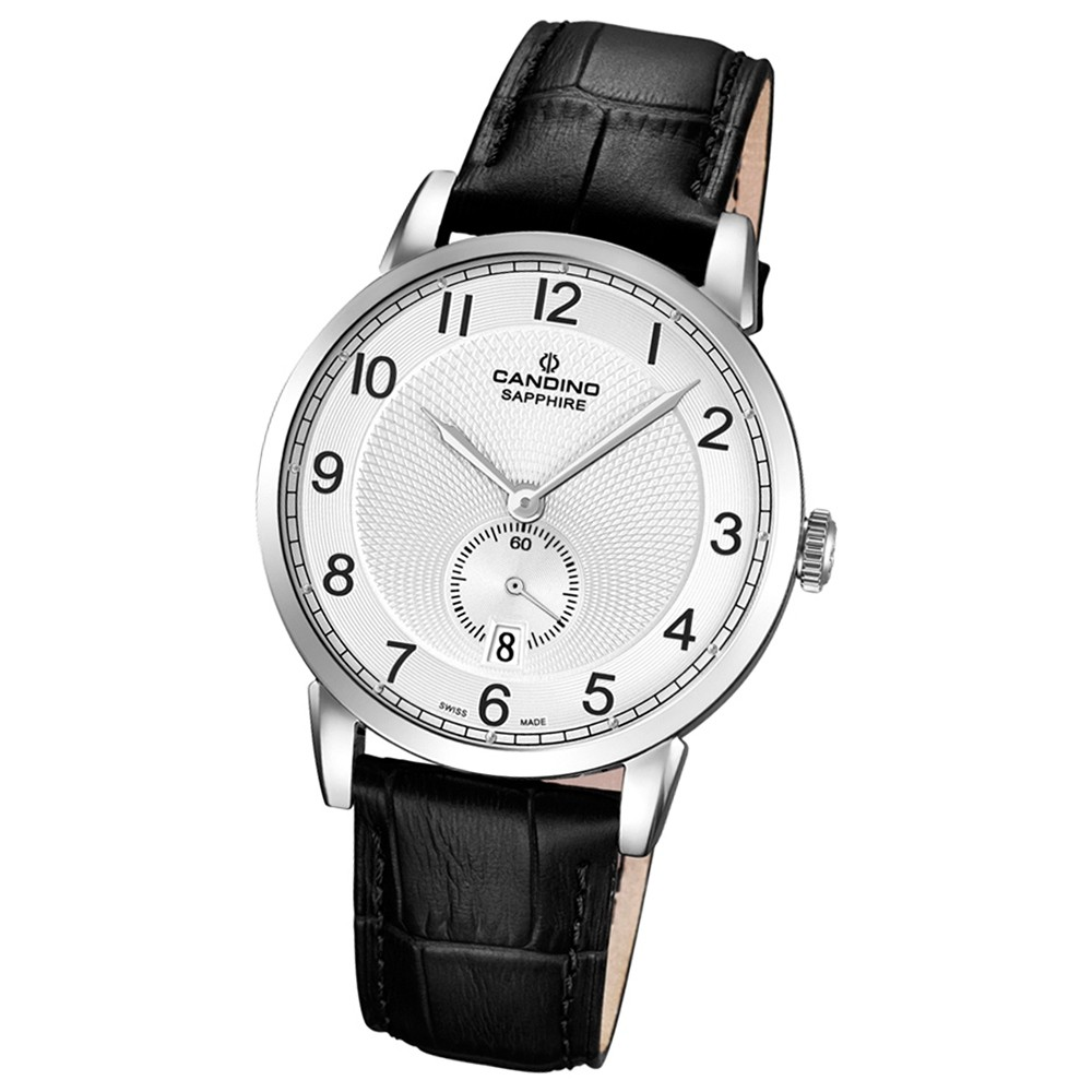 CANDINO Herren-Uhr - Classic Timeless - Analog - Quarz - Leder - UC4591/1