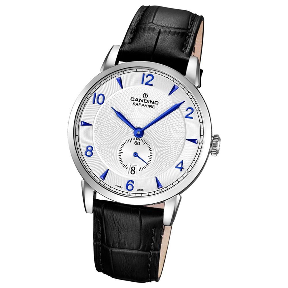 CANDINO Herren-Uhr - Classic Timeless - Analog - Quarz - Leder - UC4591/2