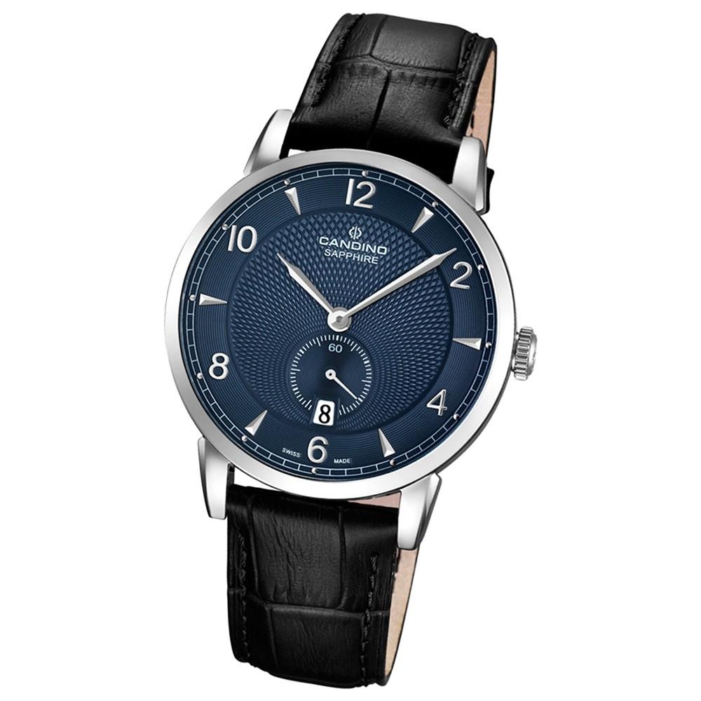 CANDINO Herren-Uhr - Classic Timeless - Analog - Quarz - Leder - UC4591/3