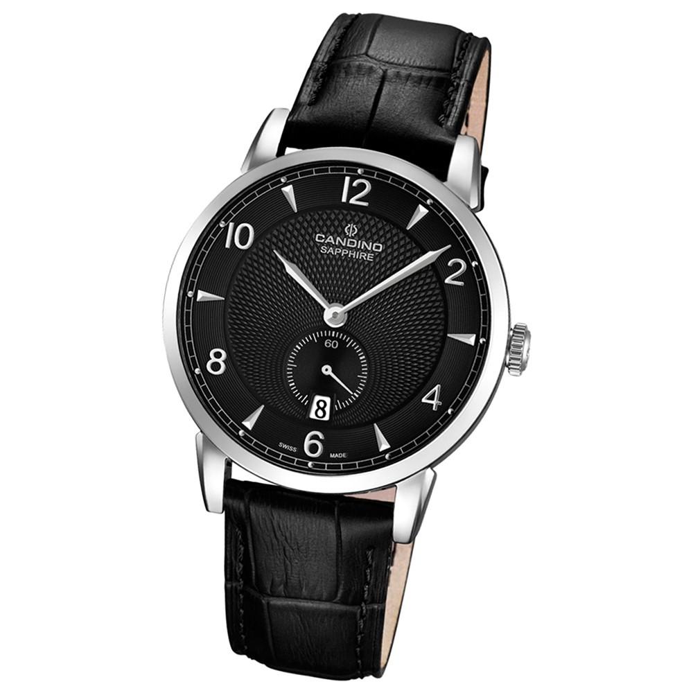 CANDINO Herren-Uhr - Classic Timeless - Analog - Quarz - Leder - UC4591/4