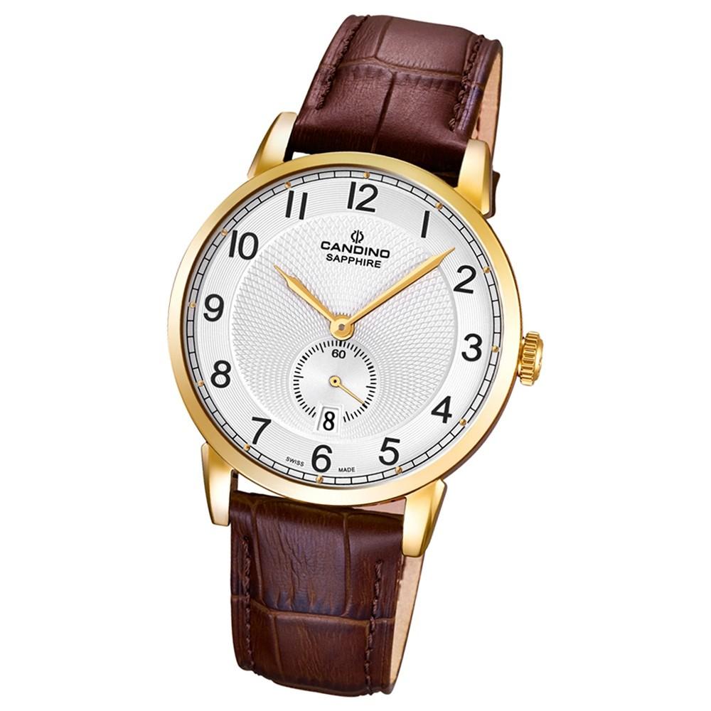 CANDINO Herren-Uhr - Classic Timeless - Analog - Quarz - Leder - UC4592/1