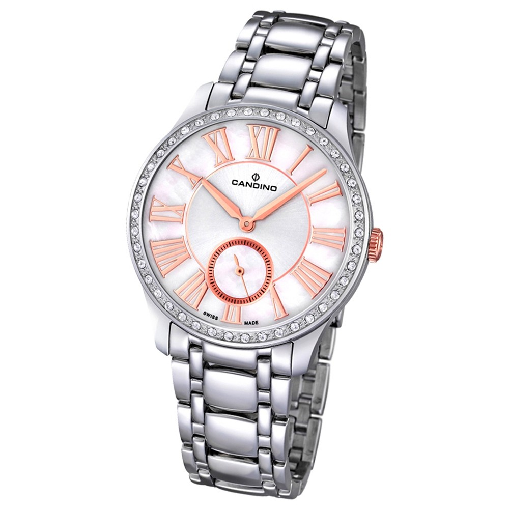 CANDINO Damen-Uhr - Elegance Delight - Analog - Quarz - Edelstahl - UC4595/1