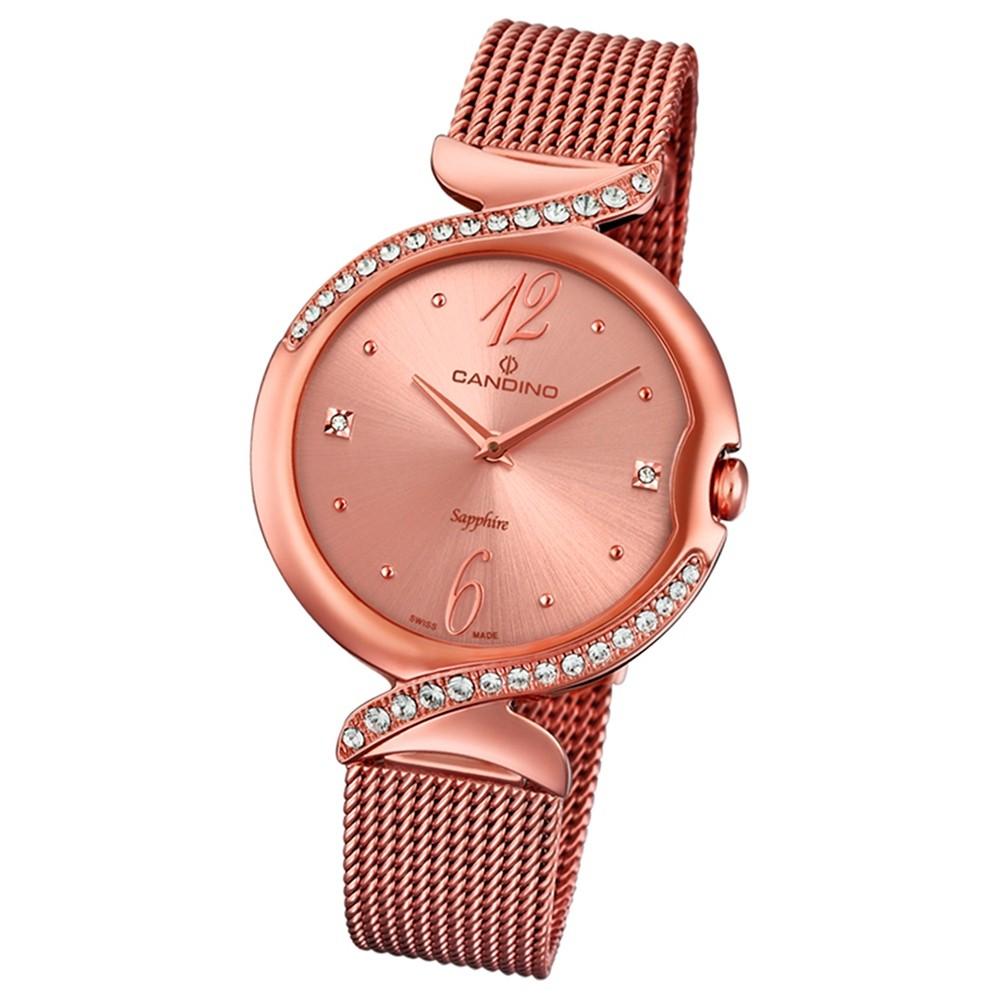 Candino Damen-Uhr Edelstahl roségold C4613/2 Quarz Elegance Flair UC4613/2