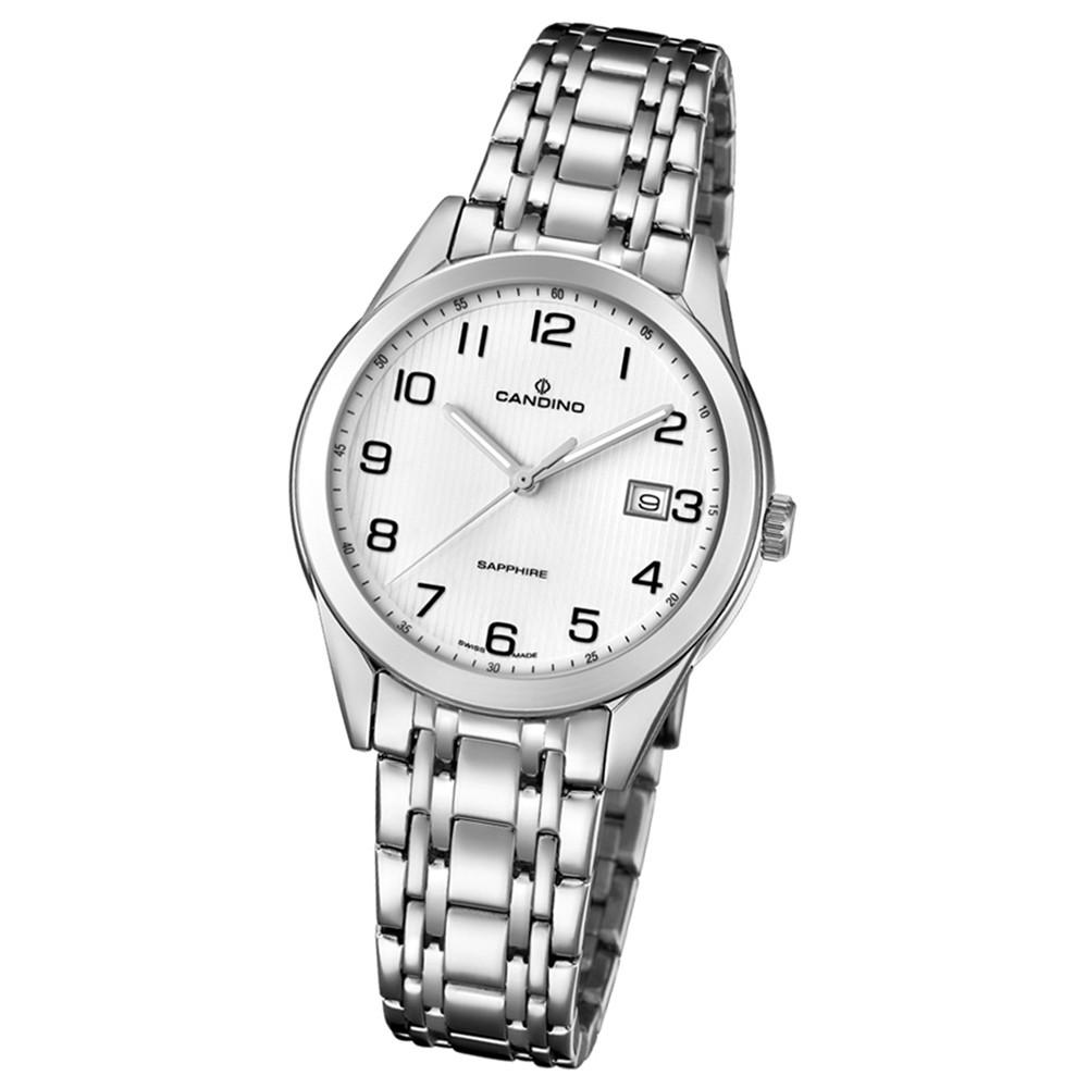Candino Damen-Armbanduhr Edelstahl silber C4615/1 Quarz Klassisch UC4615/1