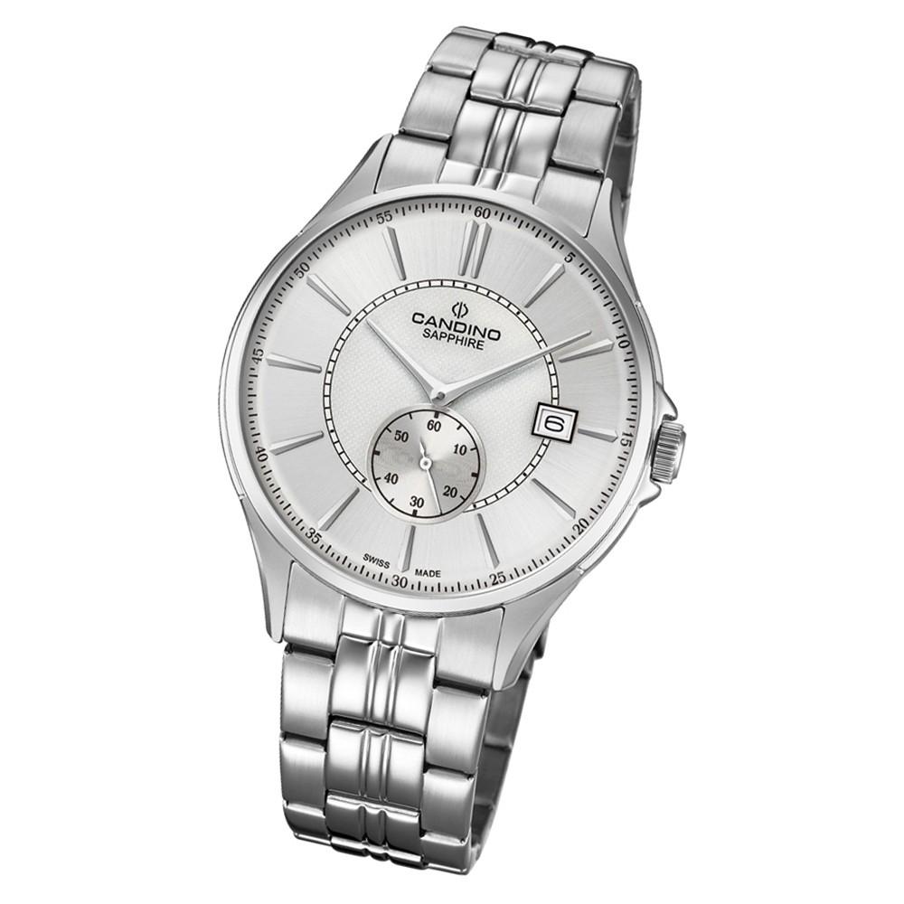 Candino Herren Armbanduhr Classic Timeless C4633/1 Edelstahl silber UC4633/1
