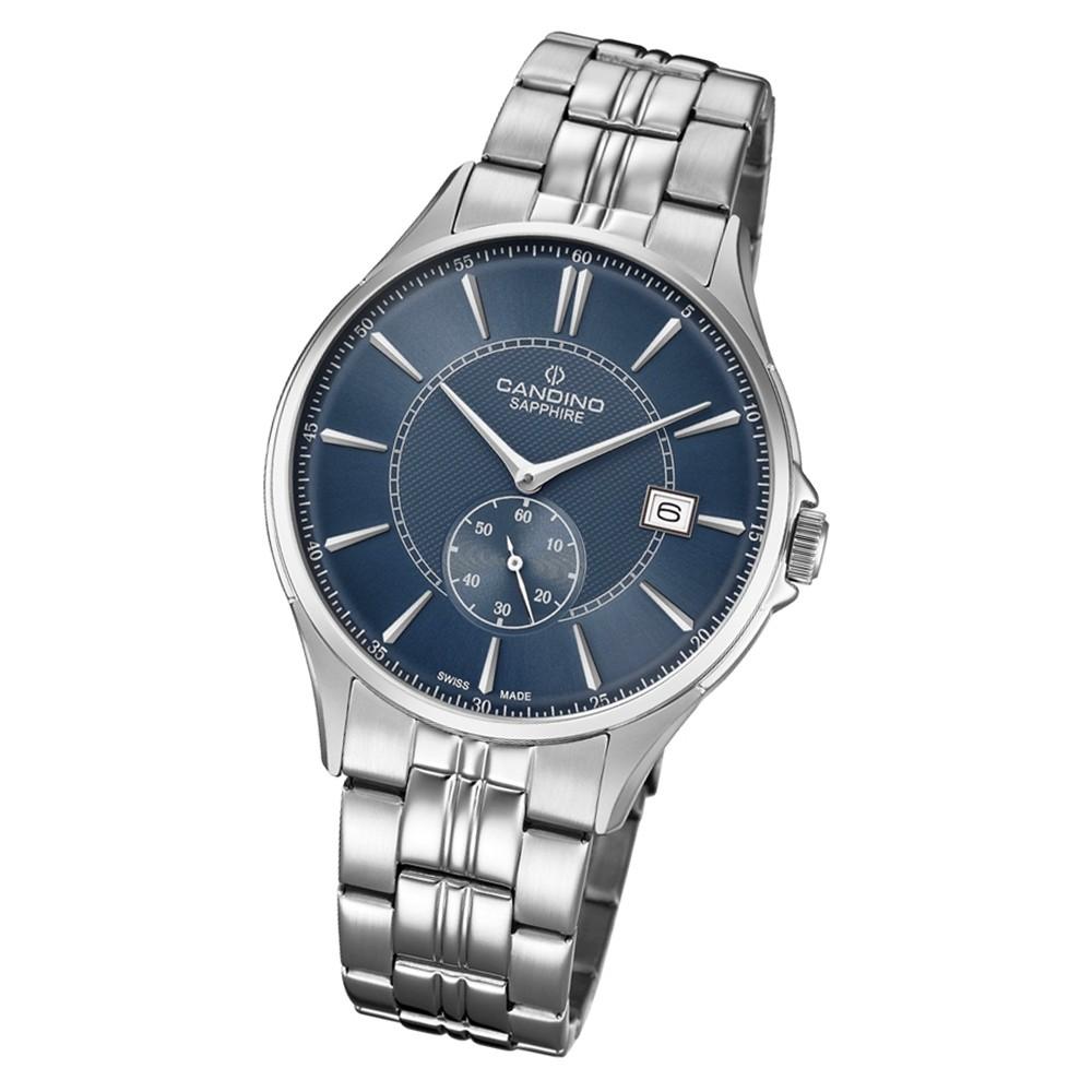 Candino Herren Armbanduhr Classic Timeless C4633/2 Edelstahl silber UC4633/2