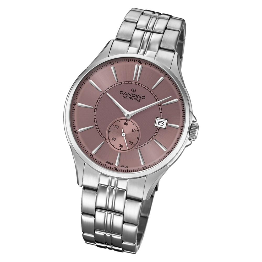 Candino Herren Armbanduhr Classic Timeless C4633/3 Edelstahl silber UC4633/3