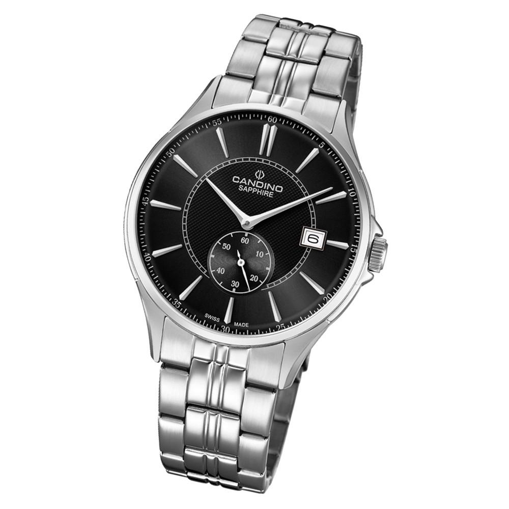 Candino Herren Armbanduhr Classic Timeless C4633/4 Edelstahl silber UC4633/4