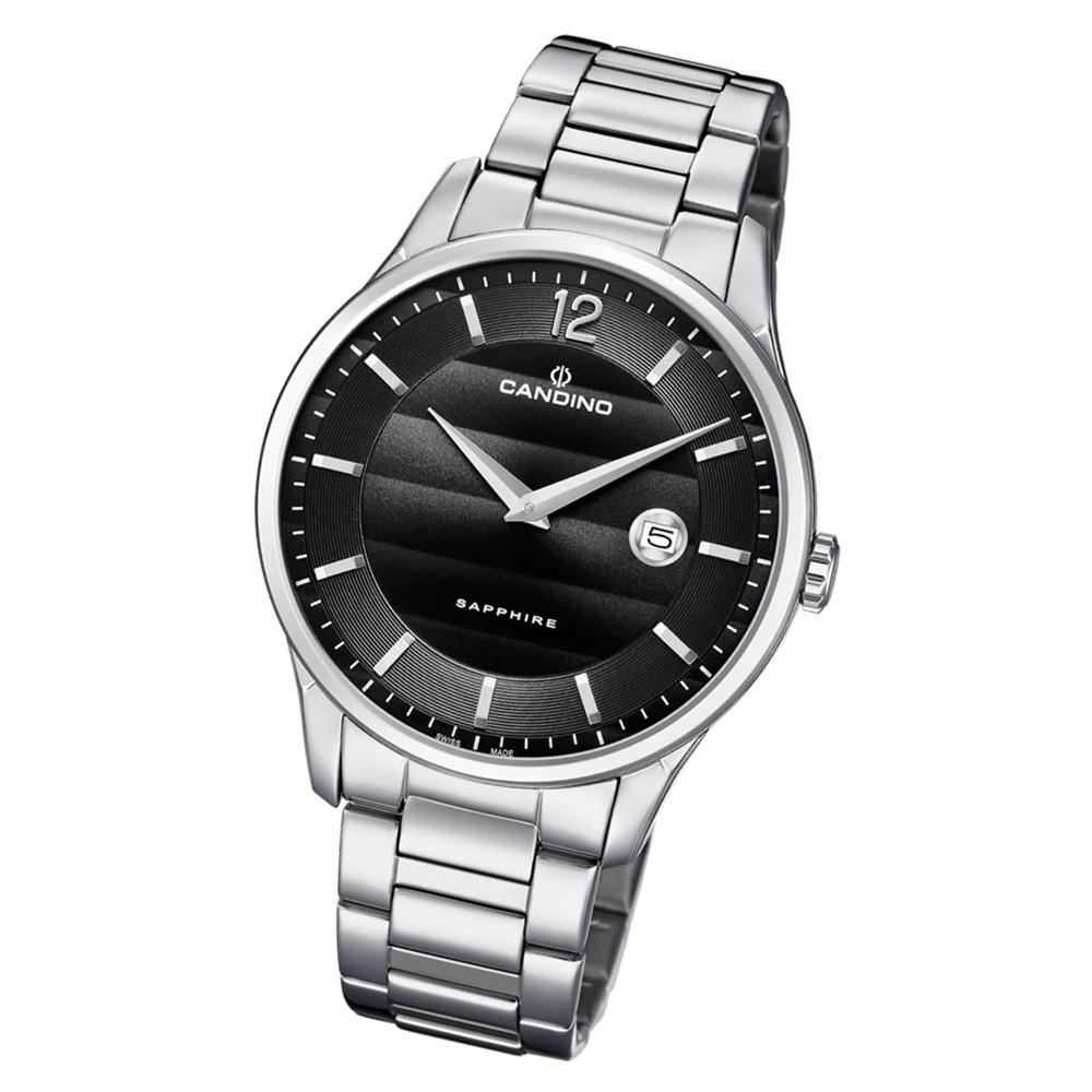 Candino Herren Armbanduhr Classic Timeless C4637/4 Edelstahl silber UC4637/4