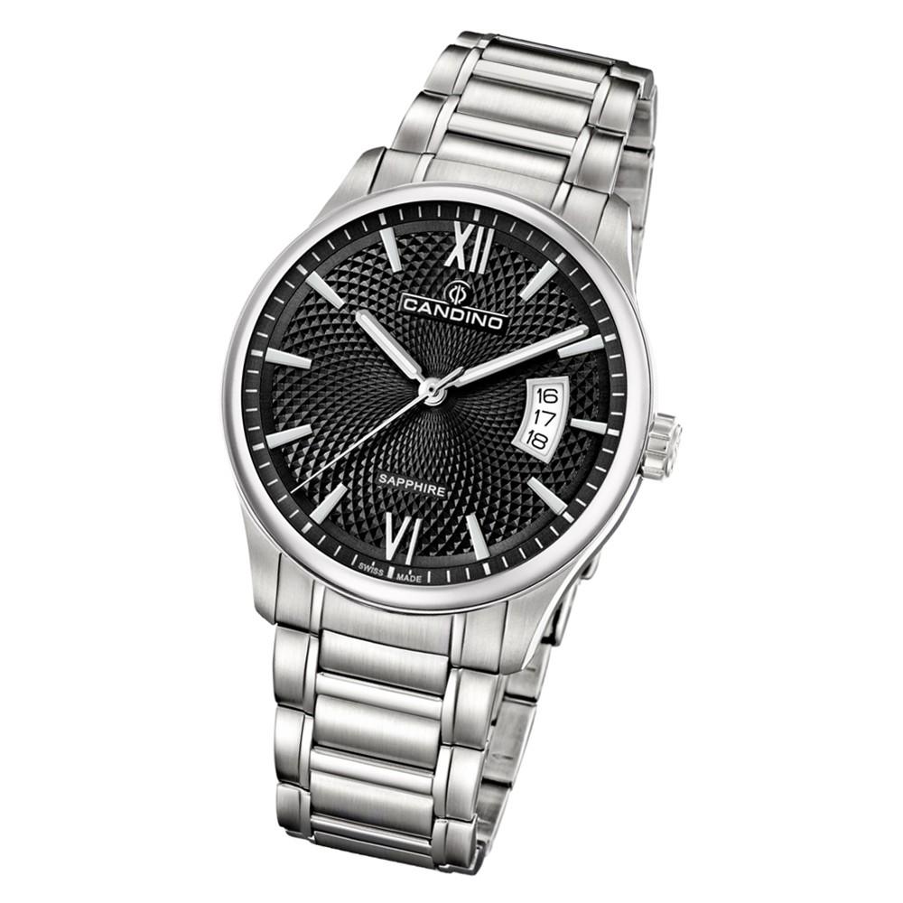 Candino Herren Armbanduhr Classic Timeless C4690/3 Edelstahl silber UC4690/3