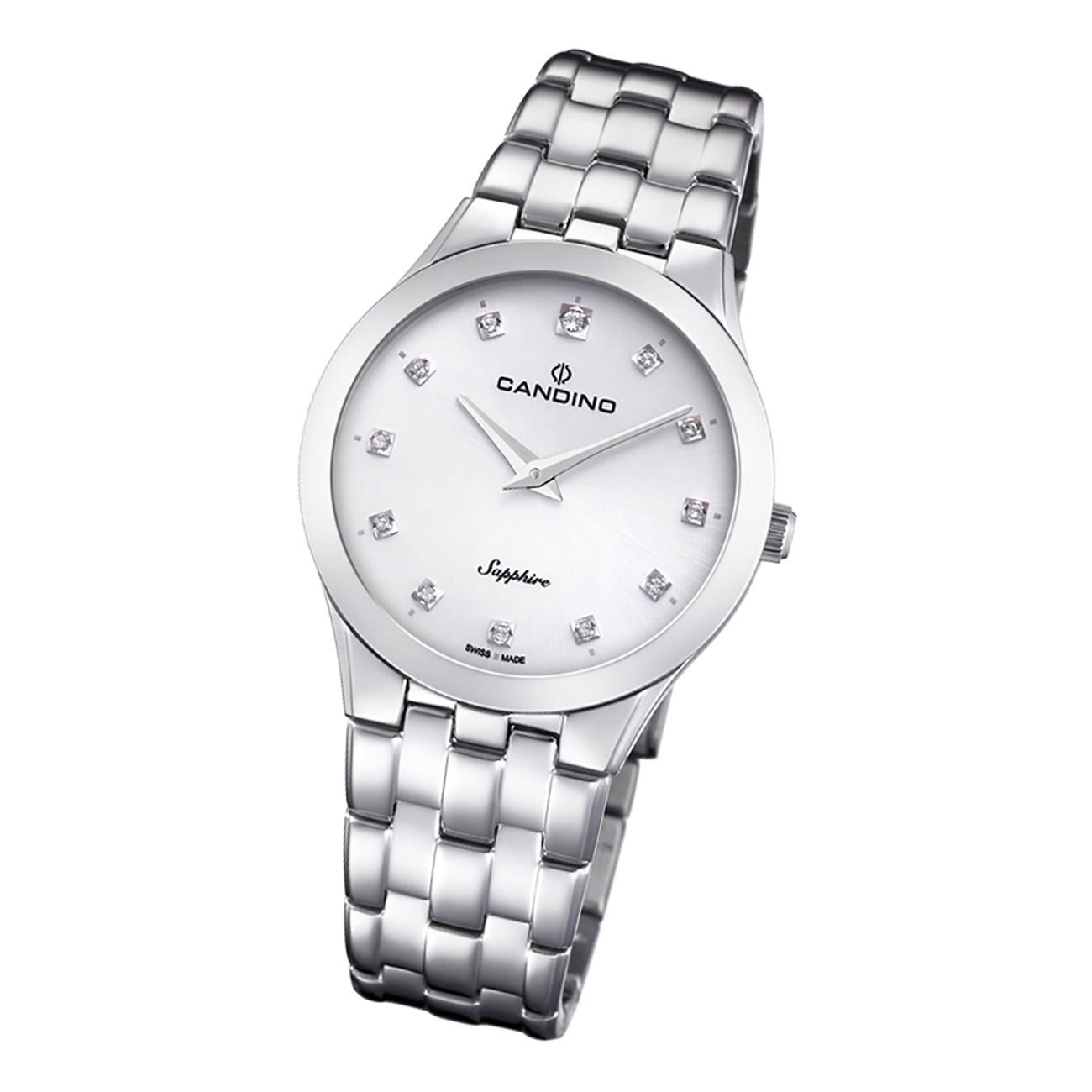 Candino Damen Armbanduhr Classic C4700/1 Analog Edelstahl silber UC4700/1